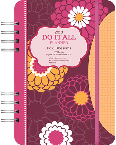 Cute day planners 2012-2013