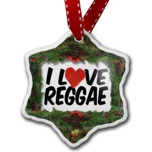 Reggae Christmas Ornaments - celebrating Bob Marley