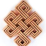 Tibetan Eternal Knot - symbol of good luck