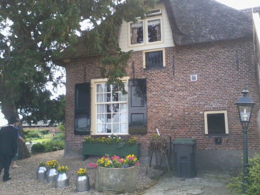 Real life Dutch Farm, the kind that inspires Marjolein Bastin