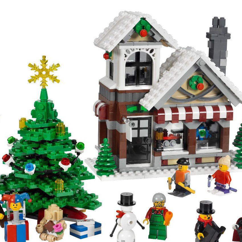 Christmas Lego Set
