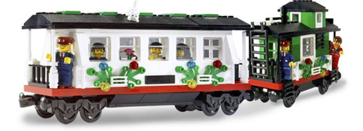Lego Christmas Train