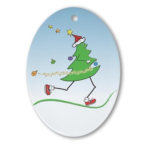 Exercise Fitness Christmas Ornaments