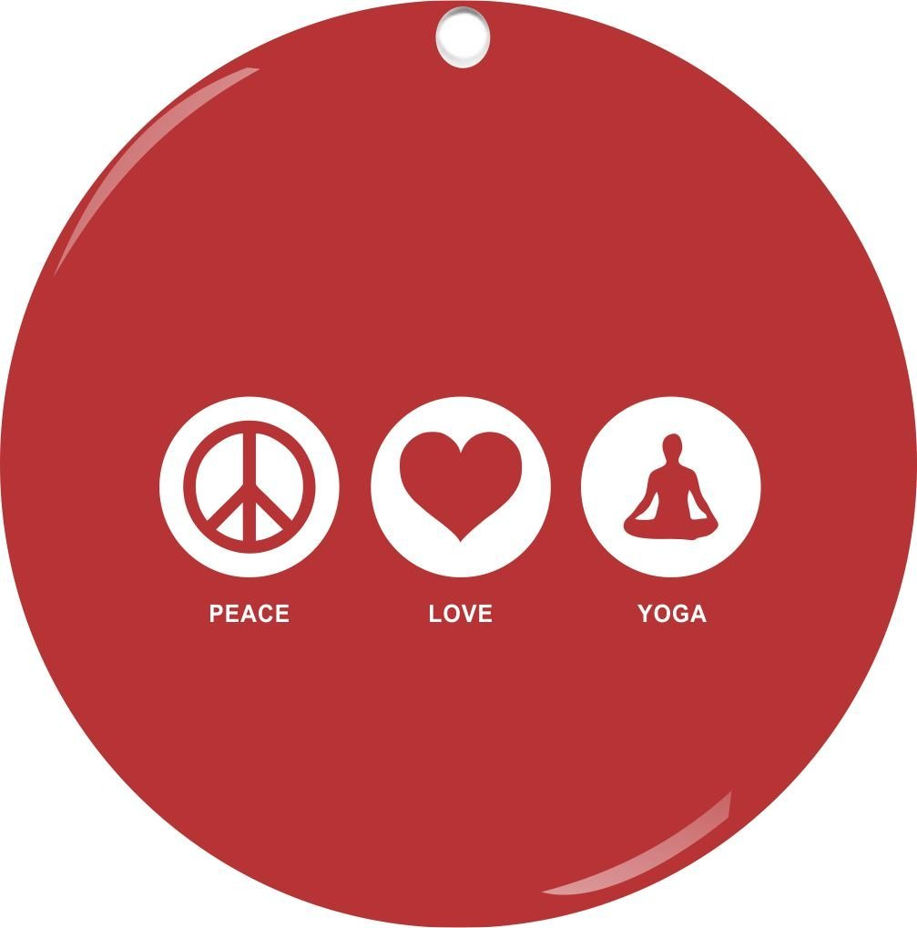 Yoga Christmas Tree Ornaments and Decorations